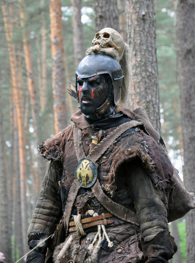 STOCK-evil warrior by IRAtheIV