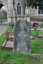 Old beautiful grave
