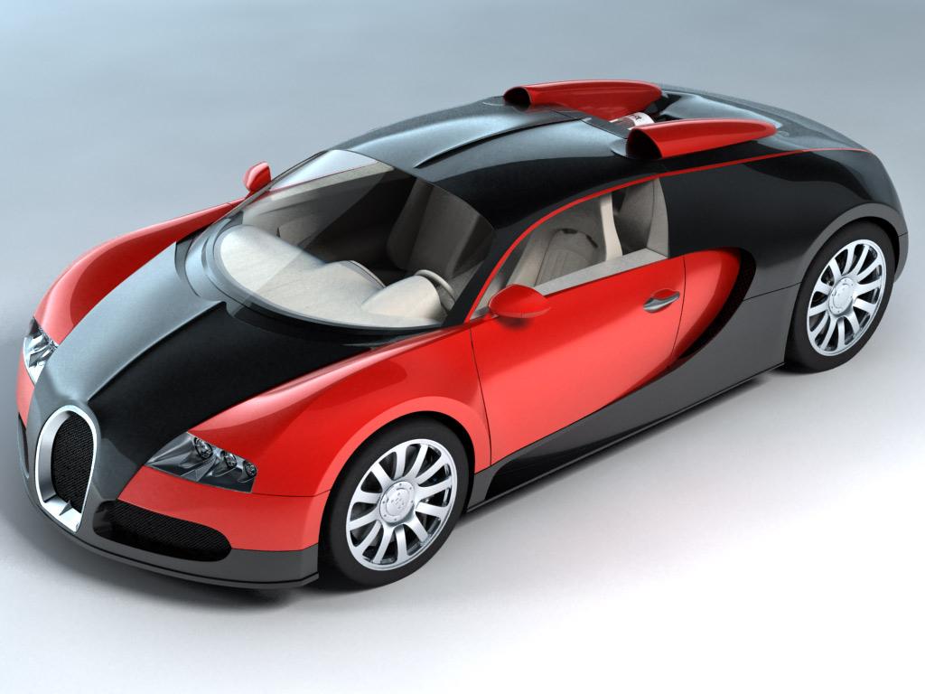 Bugatti Veyron by MixJoe