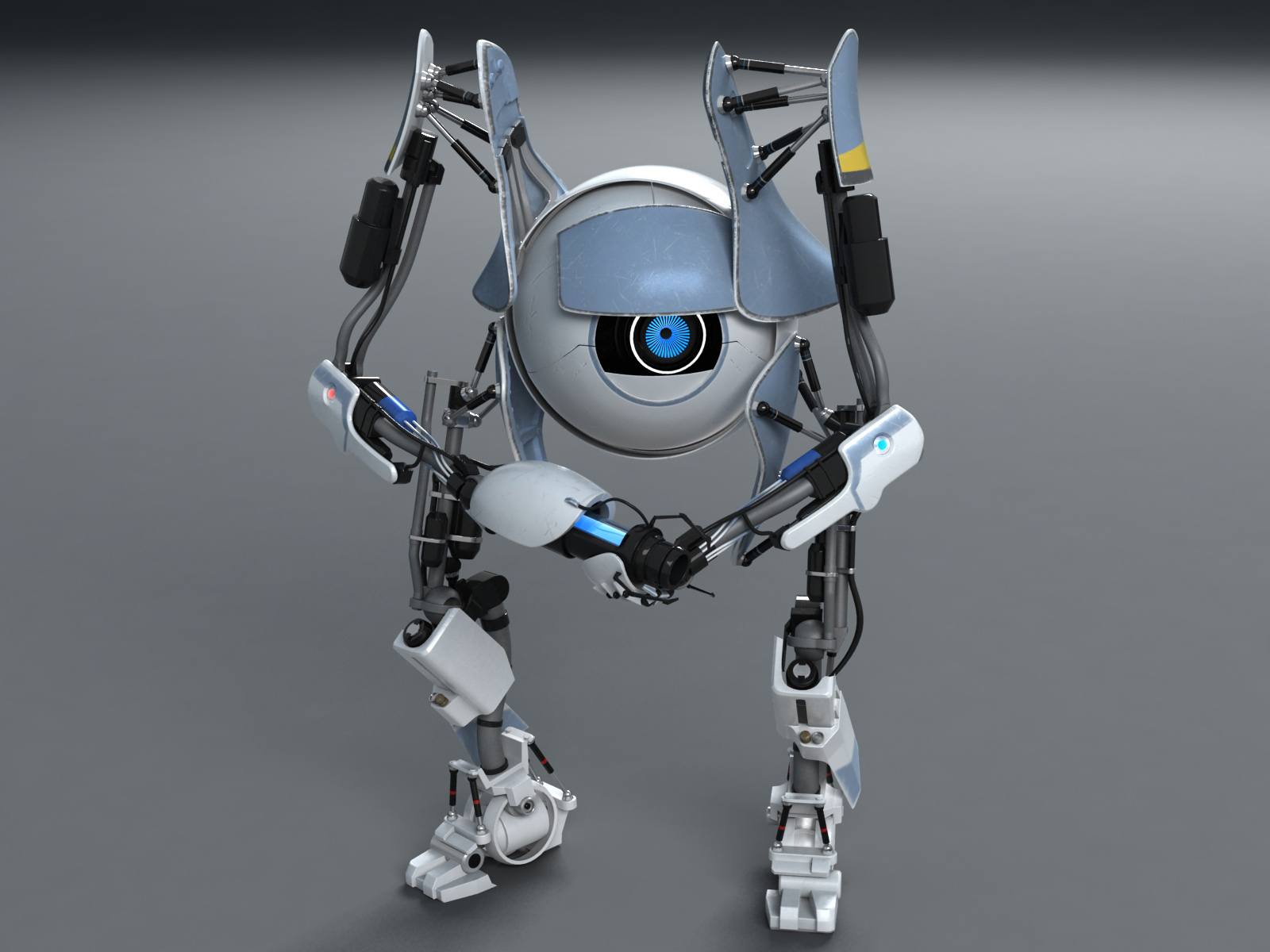 Portal 2: Atlas by MixJoe
