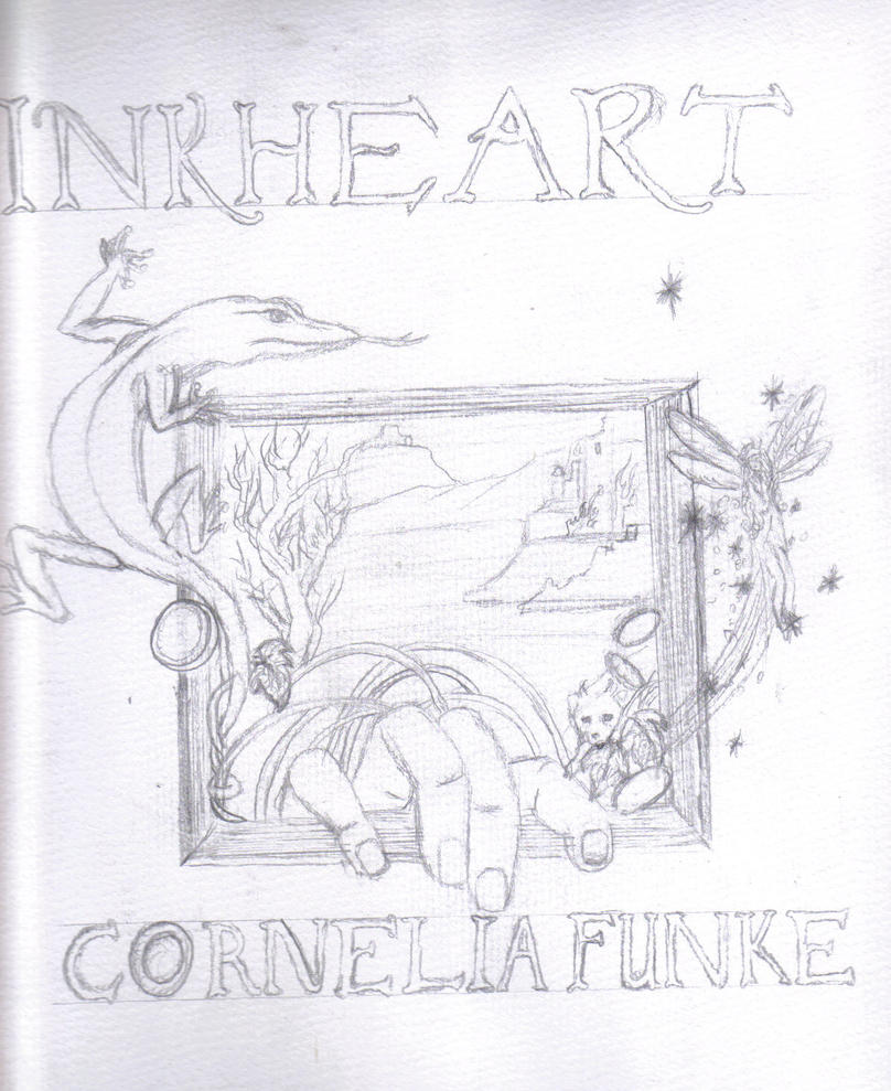 Drawing A Book Cover : Inkheart book cover by maxwellstark on deviantart