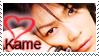 Stamp: I heart kame xD by sadista0907