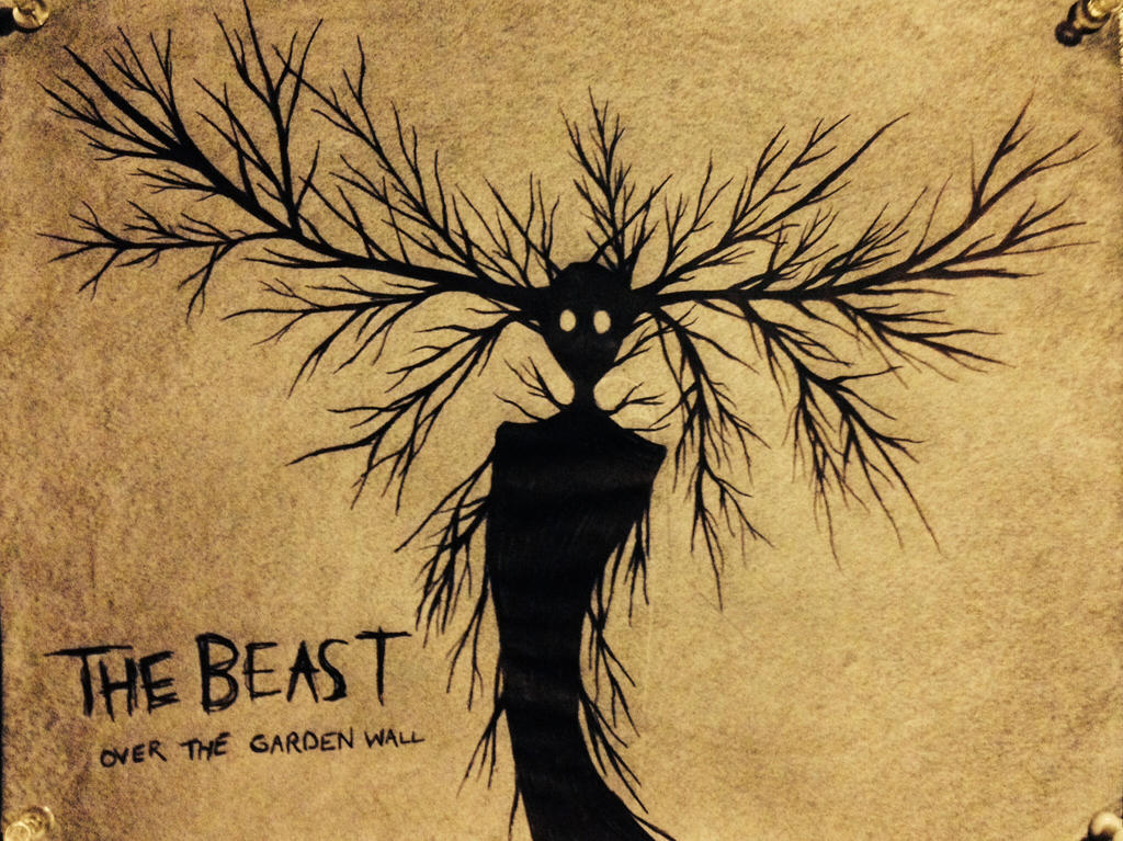 The Beast Over The Garden Wall By Mycatgunter On Deviantart