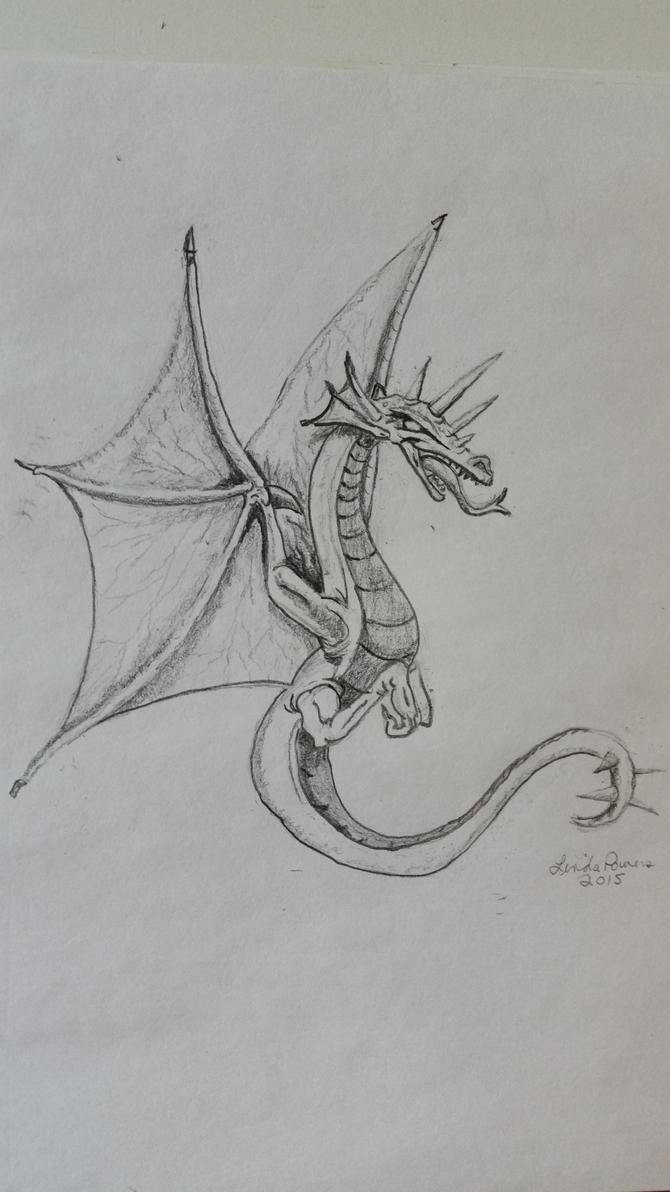 Dragon by Raggybabe