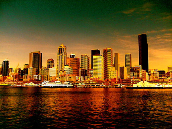 Seattle by MegaPIG1o1