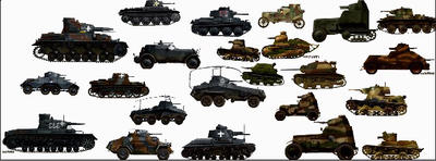 Tanks and Armored Vehicles: Polish campaign  by ghostraptor1917