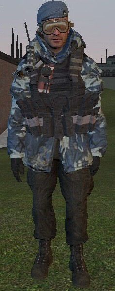 Russian soldier winter camo  by ghostraptor1917