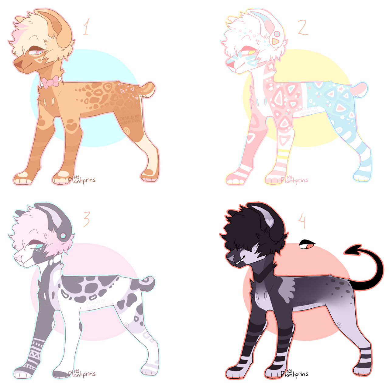 Dog adopt Auction (CLOSED!) by Kashipun