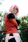 Sakura Haruno Naruto - Ready to fight cosplay