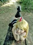 Lucy heartfilia Fairy Tail - little fairy