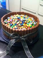 KitKat Cake by xXxBheithirxXx