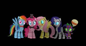 five nights at freddys 2  (my little pony)