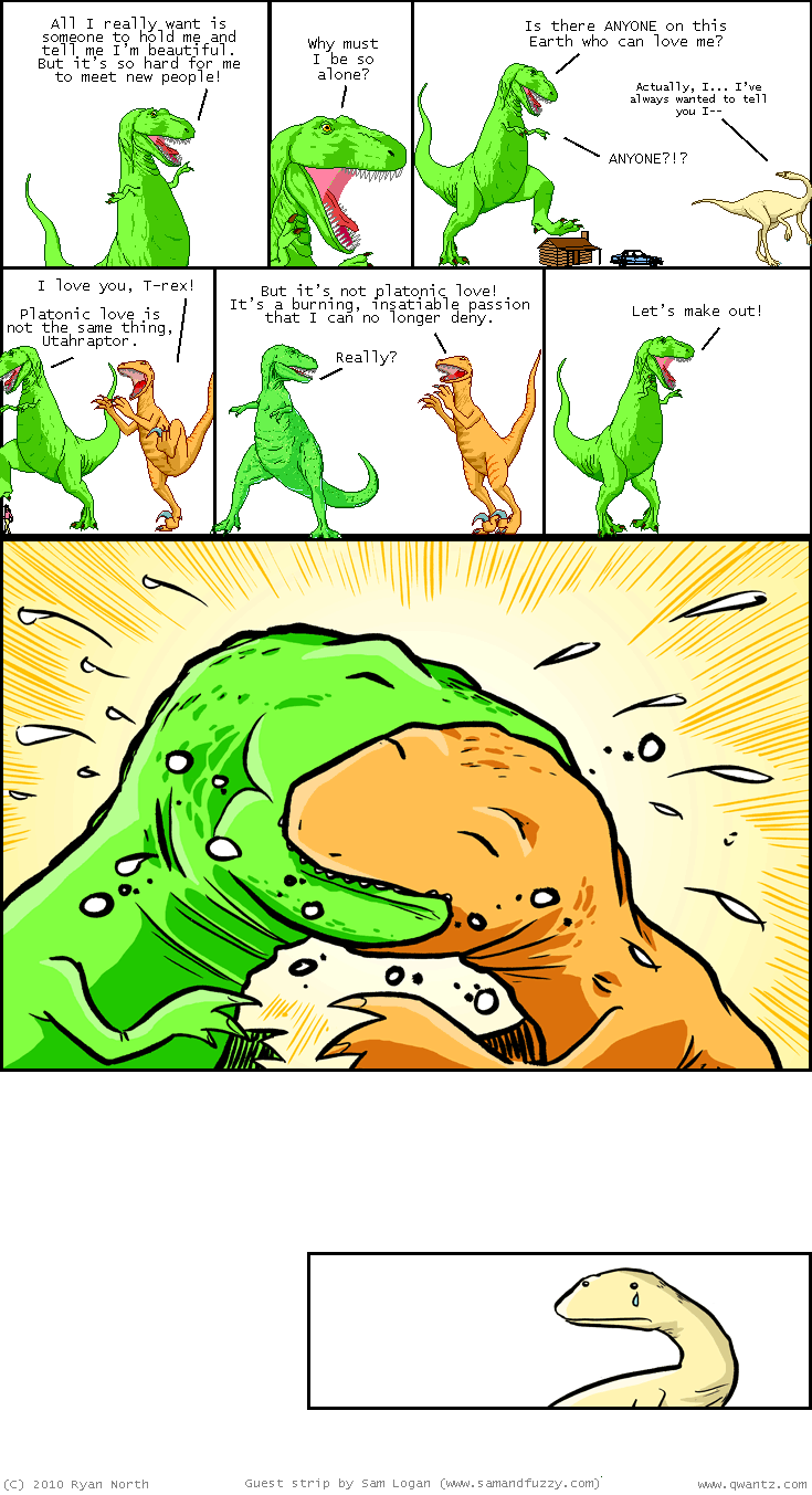Dinosaur Comics Guest Strip by samandfuzzy
