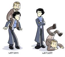 Watson, Watsoff by samandfuzzy