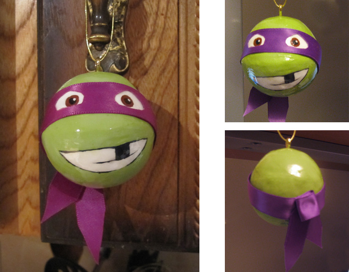 Donatello Christmas Ornament by samandfuzzy