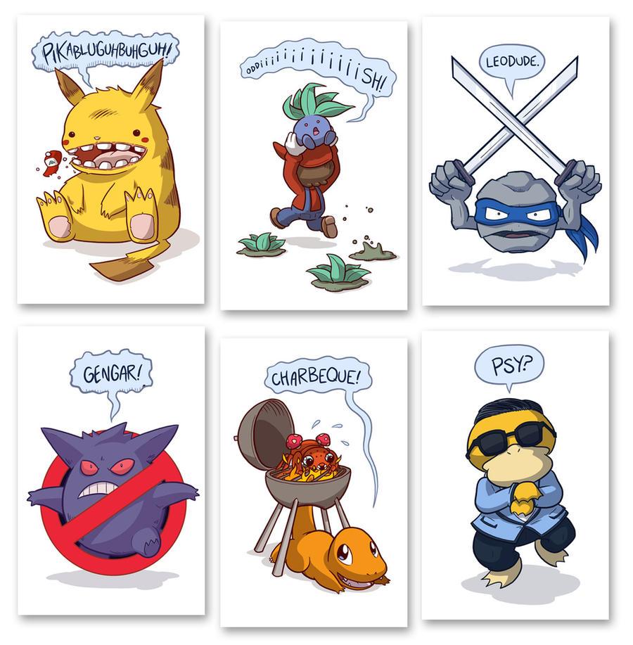 Jokemon Prints by samandfuzzy
