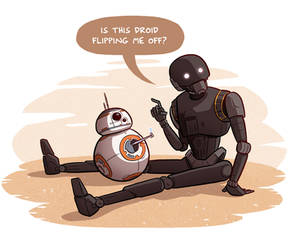 K-2SO and BB-8
