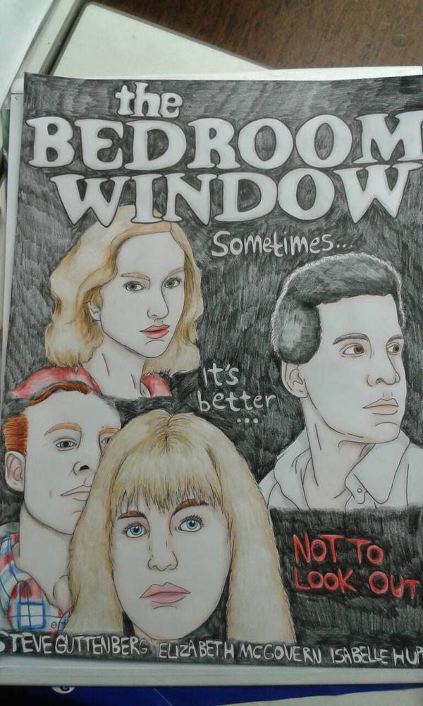 The Bedroom Window | Poster  by Spinnenpfote6