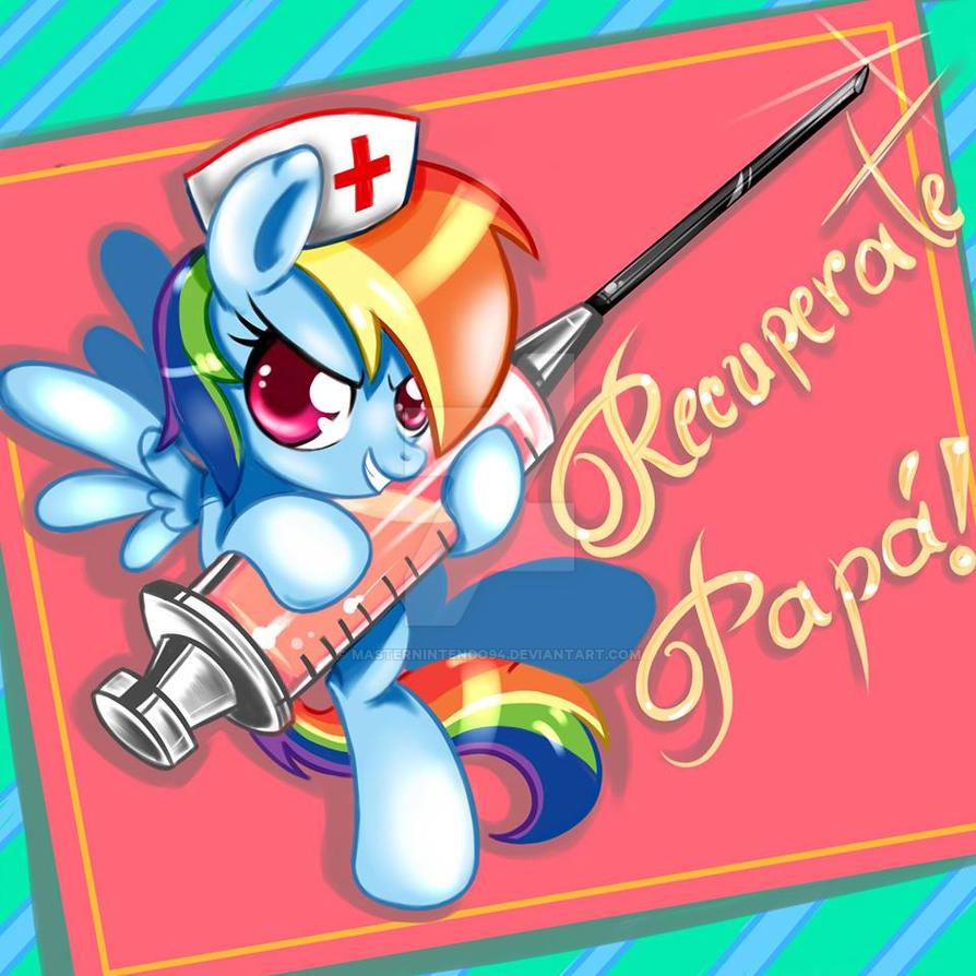 Rainbow Dash Nurse 2 by Pyruvate on DeviantArt