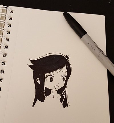 IS THIS AN INKTOBER NOW by glacceee