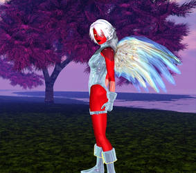 Silver demon by mordil