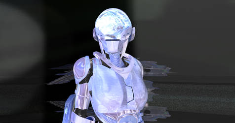 Cybersuit close up by mordil