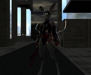 Usagi  kunoichi by mordil