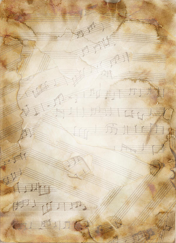 Texture Music Notes by GreenDangersStock