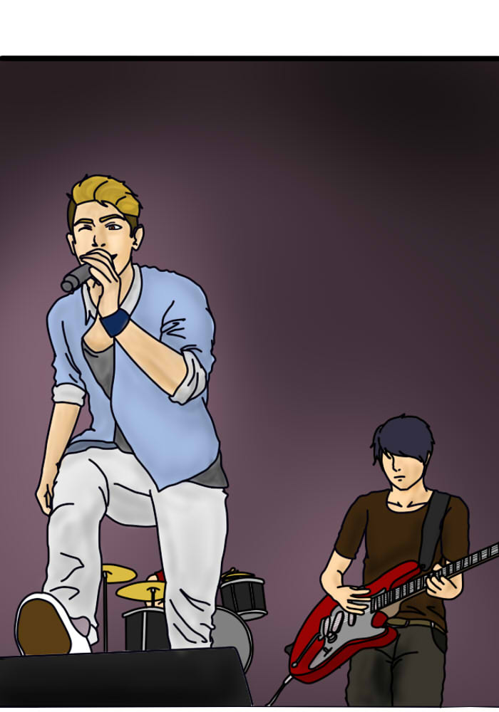 Adrian and His Band by SMarwah