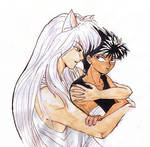 YYH: Youko and Hiei
