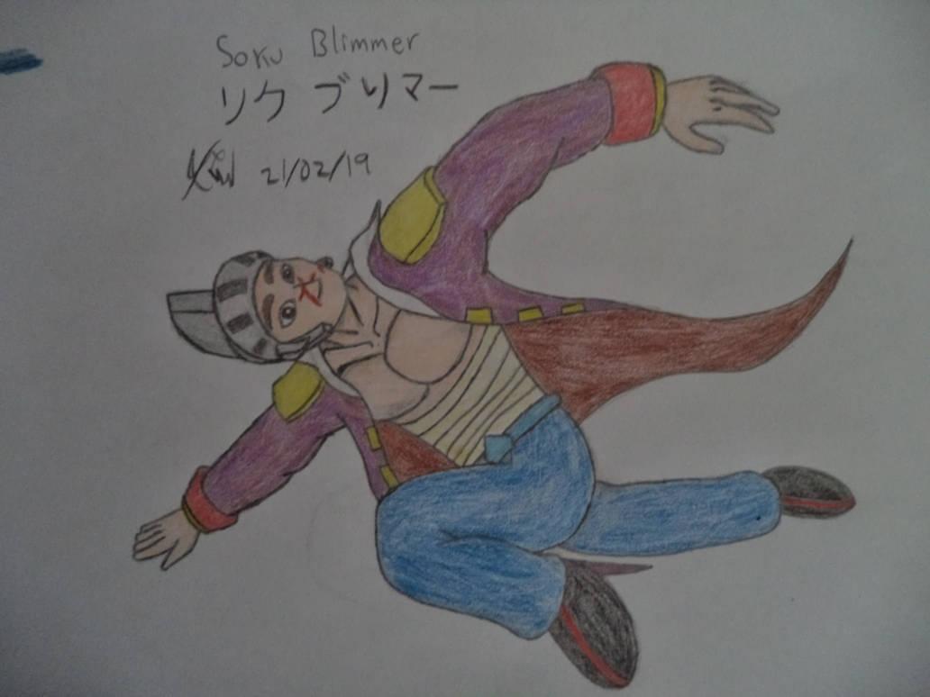 Soku's posing kinda weird by Kenji195