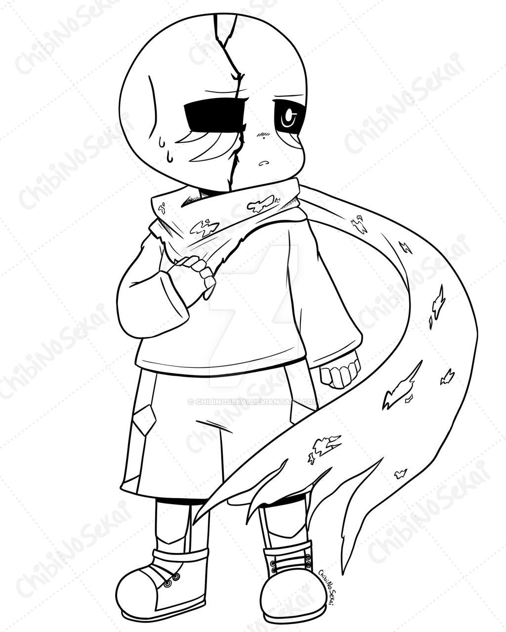 C Krypton Sans Coloring Page By Chibinosekai On Deviantart