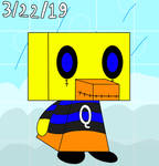 Quakers The Duck (Not my fan-character)