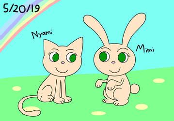 Real animal Mimi and Nyami by 176396