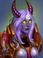Draenei by Soleilloo