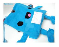 Blue Robot Bag
