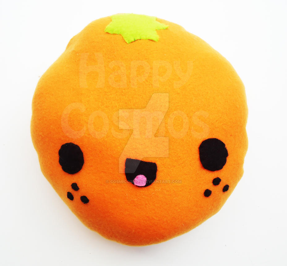 Orange plush by cosmicosmos on deviantart for Orange colour things