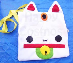 Maneki Neko Bag by CosmiCosmos
