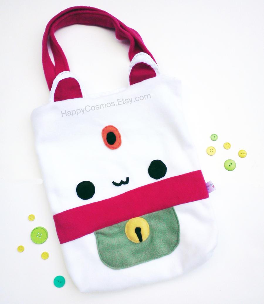 Maneki Neko Tote Bag by CosmiCosmos