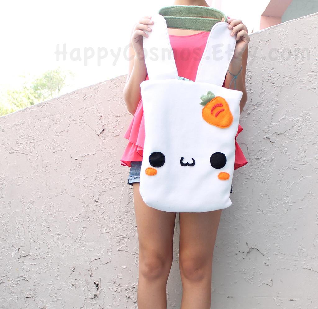 Bunny Tote Bag by CosmiCosmos