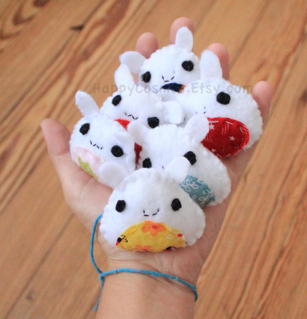 Mini Bunny Plush by CosmiCosmos
