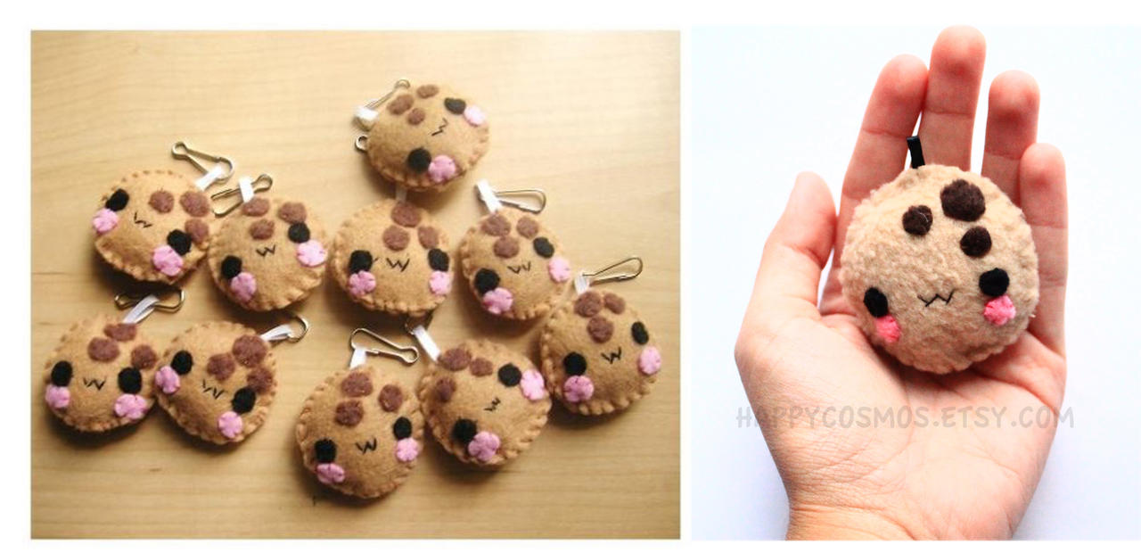 Cookie Keychain by CosmiCosmos