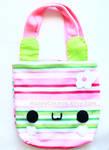 Striped Bunny Bag