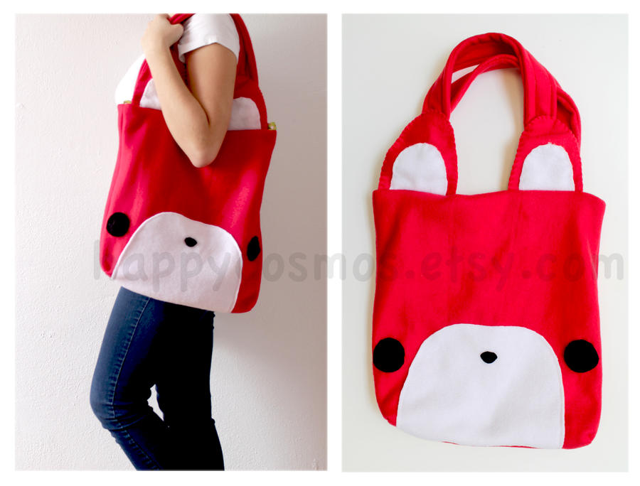 Fox Tote Bag by CosmiCosmos