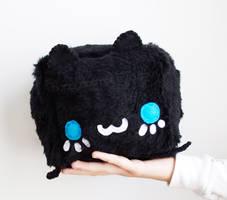 Black Cat Plush by CosmiCosmos