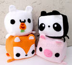 Cute Animal Plushes