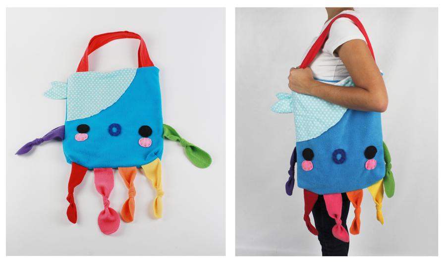 Octopus Bag by CosmiCosmos