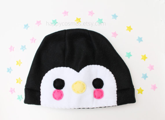 Penguin Hat by CosmiCosmos