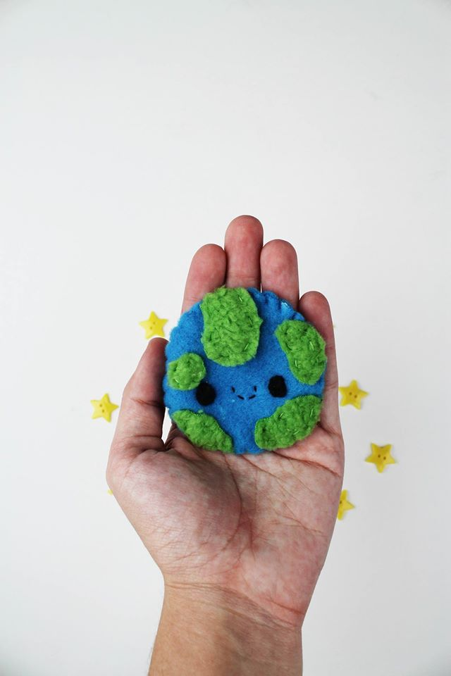 Earth Plushie by CosmiCosmos