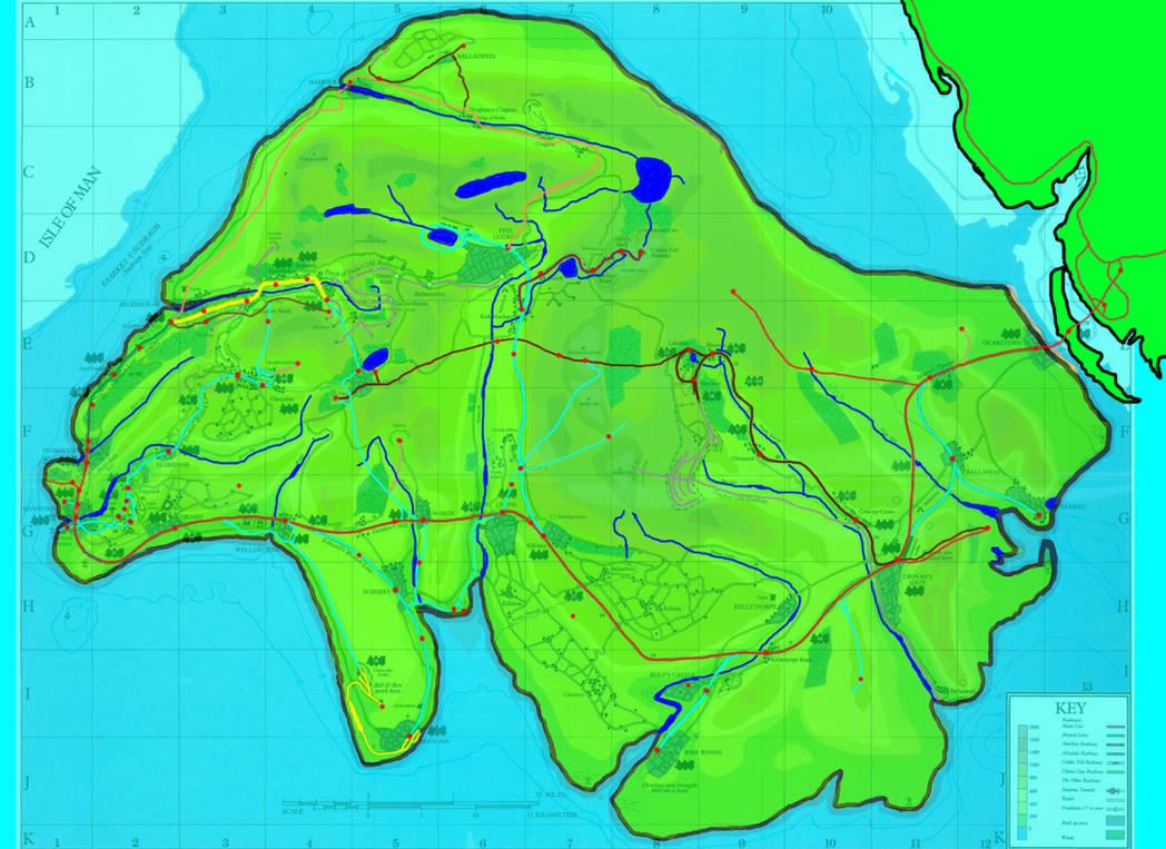 Sodor misty island map